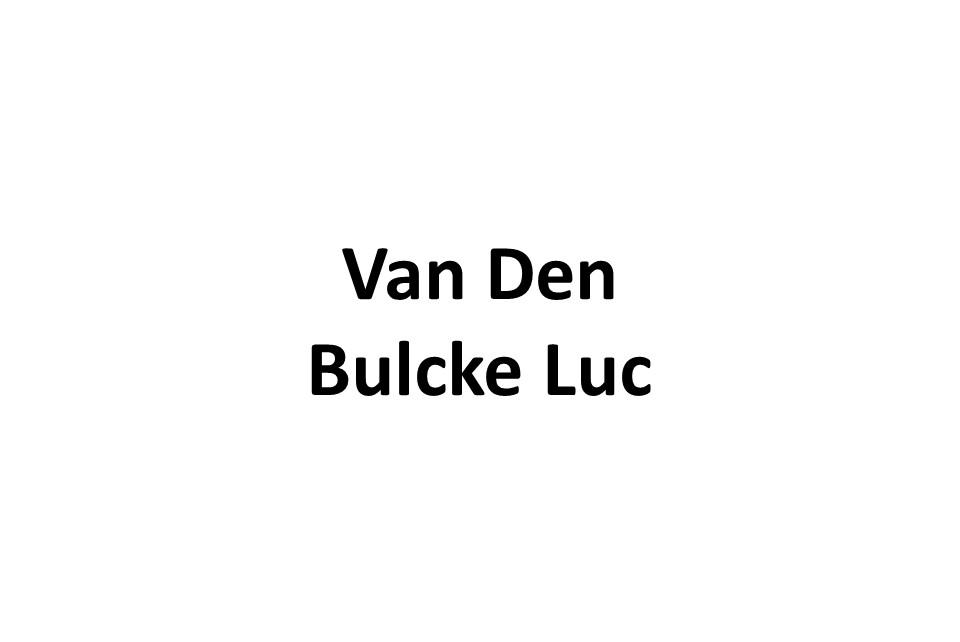 Van Den Bulcke Luc